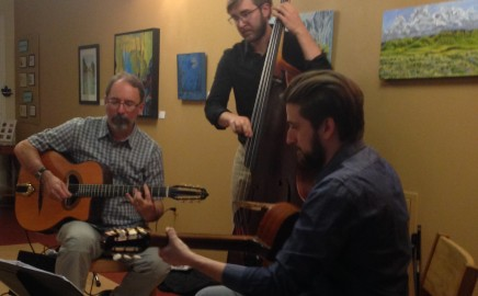 Great House Concert at Wolf Willow – Sons of Django – June 2017